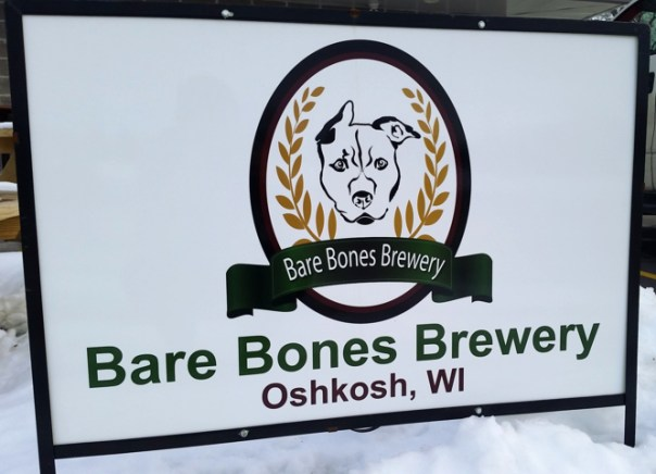 Bare Bones Brewery in Oshkosh, WI: the 46th stop on the Great Wisconsin Brewery Tour. All photos by Joe Powell.