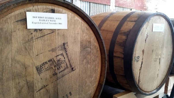 In-house barrel-aging.