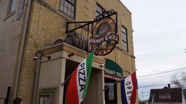 Grumpy Troll Brew Pub in Mount Horeb. All photos by Joe Powell.