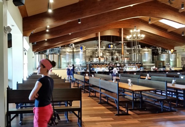The giant beer hall.