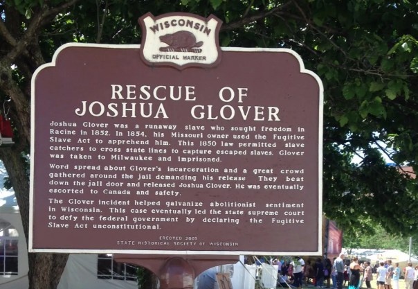 Our Second Historical Marker on our journey. Photo Credit: Meggy Demeter