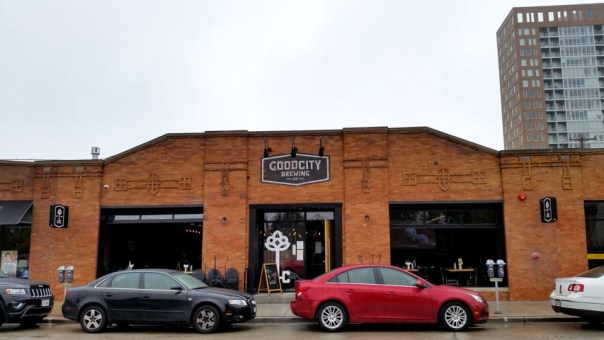 Good City Brewing on the Lower East Side of Milwaukee. All photos by Joe Powell.
