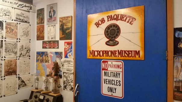 The Bob Paquette Microphone Museum in Walker's Point, Milwaukee, WI; the largest collection of microphones in the world. All photos by Joe Powell.