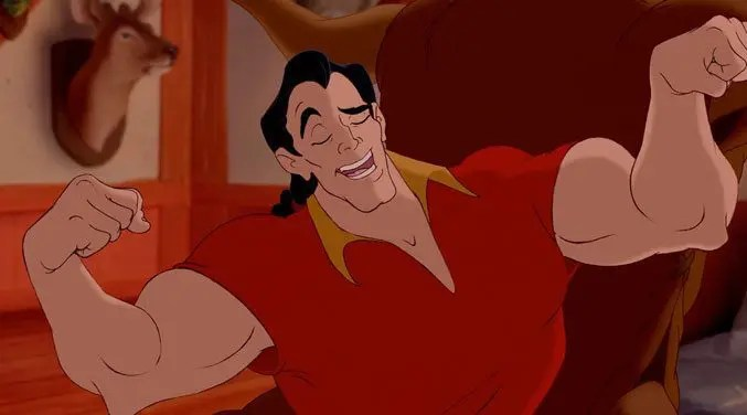 beauty-and-the-beast-gaston-flexing