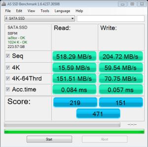 BP4 AS SSD Bench