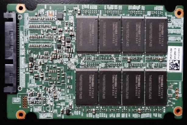 Plextor M5 Pro Xtreme PCB Back
