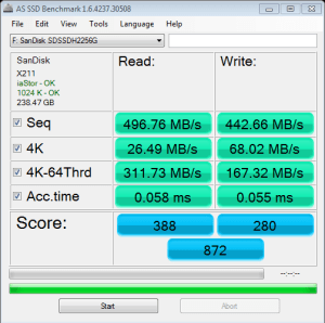 SanDisk Ultra Plus AS SSD