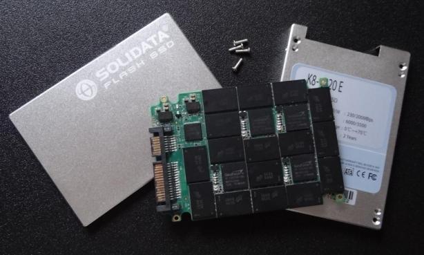 Solidata K8-1920E SSD Disassembled