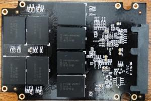 Kingspec Challenger E3000 SSD PCB Back