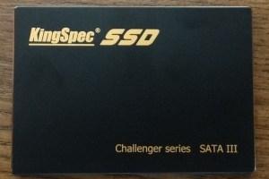 Kingspec Challenger E3000 SSD SSD Front2