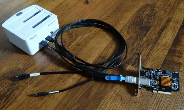 HighPoint Rocketstor 5322 Cabling