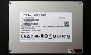 Crucial M500 960GB SSD SSD Back
