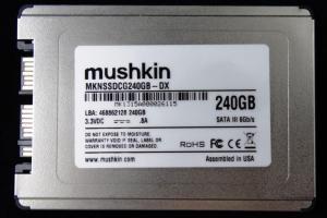 Mushkin Go 240GB SSD Front