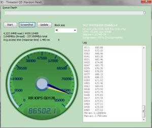 OCZ Vertex 450 Anvil Read IOPS 86502