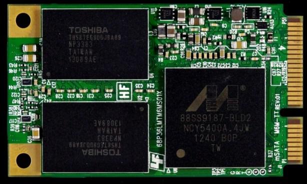 Plextor M5M mSATA SSD PCB Front