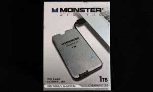 Monster Digital OverDrive 3.0 1TB Exterior Front
