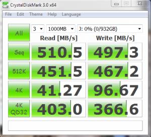 Samsung 840 EVO 1TB SSD CDM