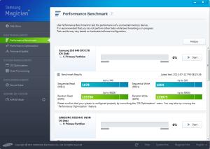 Samsung Magician OS Performance