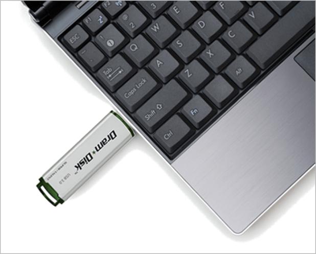 DramDisk Laptop