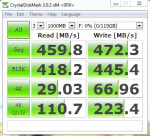 ADATA MPCIe 128GB CDM oFill