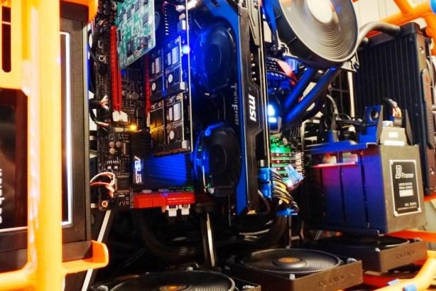 KingFast PCIe Bench