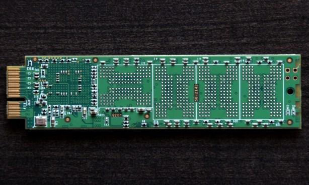 Mushkin Scorpion Deluxe PCIe SSD Single mSATA Back