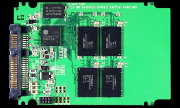 SM2246 PCB Front