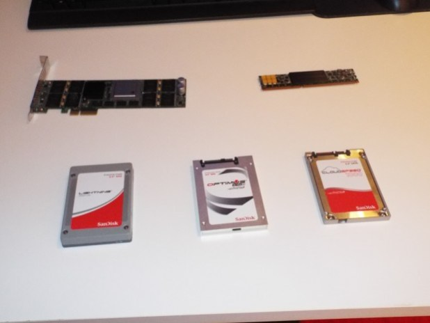 SanDisk display