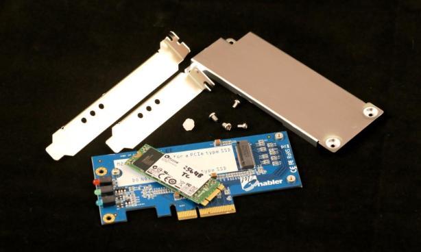 IOSwitch Raijin M.2 PCIe SSD Disassembled