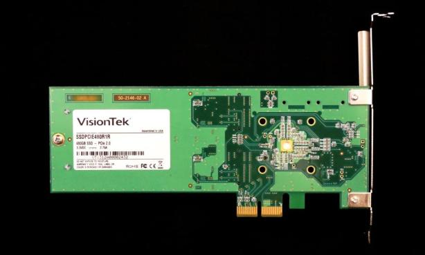 VisionTek Data Fusion PCIe SSD Back