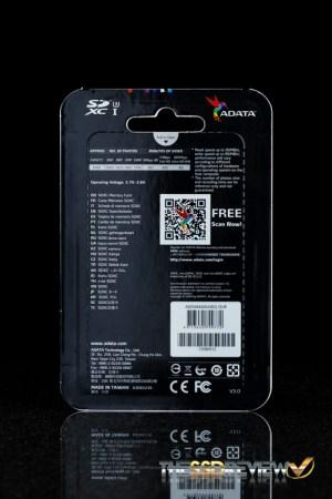 ADATA XPG 64GB Package Back