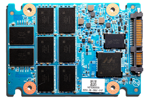 SanDisk Extreme Pro SSD PCB Front