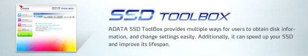 Adata SSD Toolbox download page