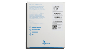 Angelbird SSD2Go 521GB SSD Exterior Front