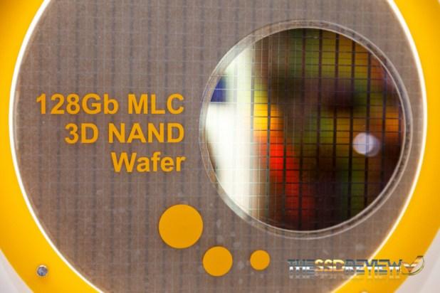 Hynix 3D NAND Wafer