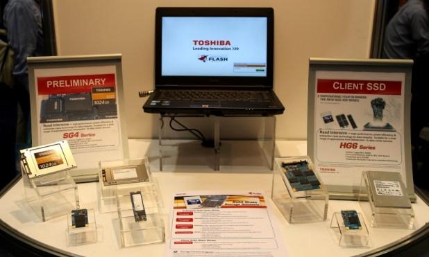 Toshiba Booth