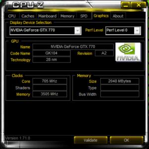 CPUZ Graphics