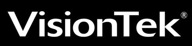 VisionTek logo dark background