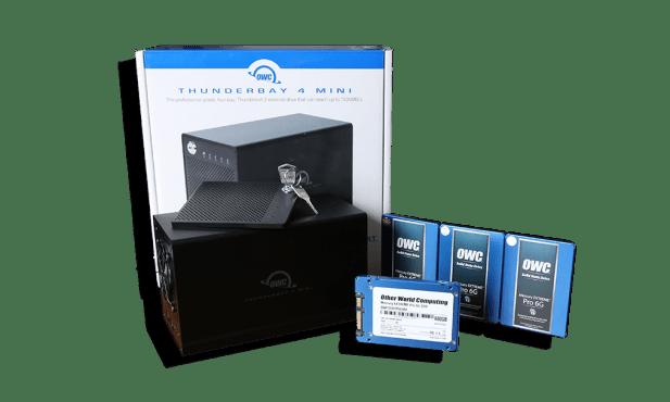 OWC ThunderBay 4 Mini Complete
