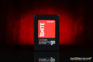 Patriot Ignite 480GB Front