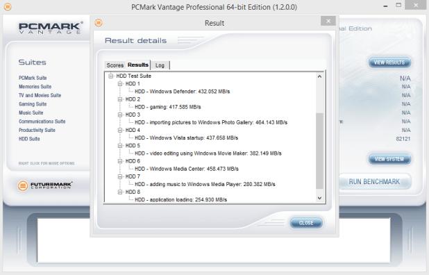 Samsung 850 EVO mSATA 1TB PCMark Vantage