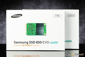 Samsung 850 EVO mSATA Package Front