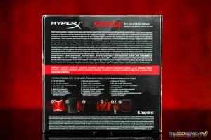 Kingston HyperX Savage 240GB Package Back