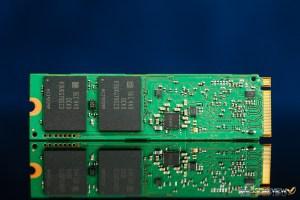 Samsung SM951 AHCI M.2 PCIe 512GB Back