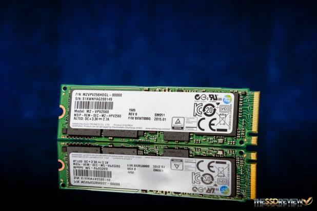 Samsung SM951 M.2 PCIe NVMe 256GB Main