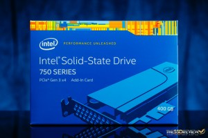 Intel 750 400GB Packaging Front