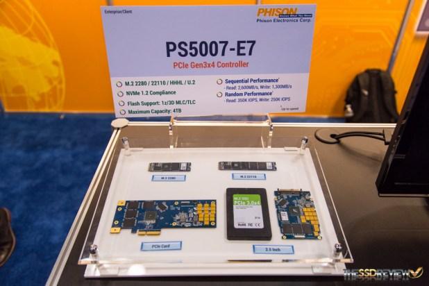 Phison FMS 2015 E7 Controller