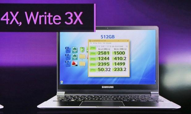 Samsung 950 Pro m2 SSD CDM