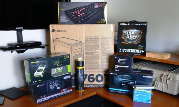 TSSDR Z170 Build The Equipment Arrives