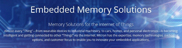 Micron XTRMFlash embedded solutions banner